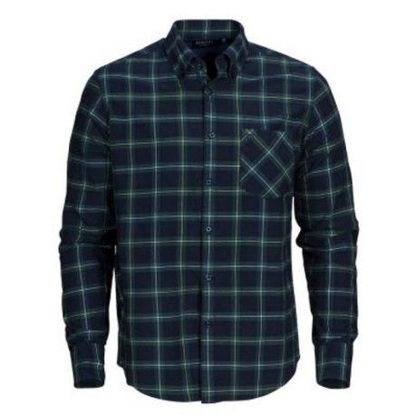 Clemson Checked Shirt marine-groen geruit