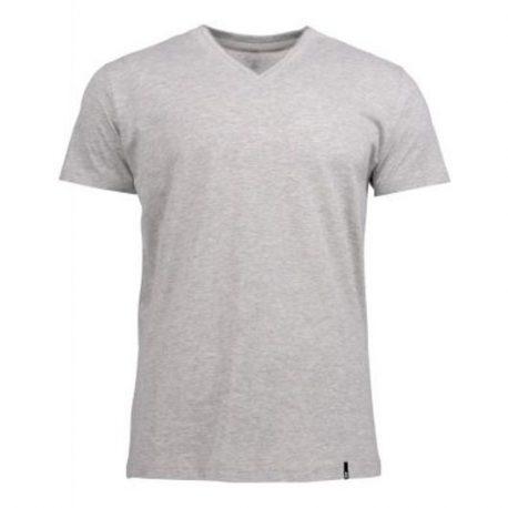Harvest American V T-shirt Lichtgrijs