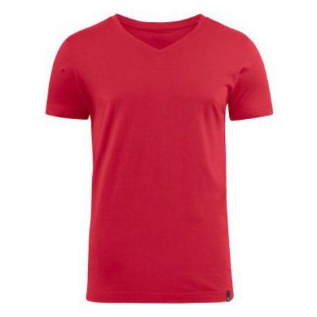 Harvest American V T-shirt Rood
