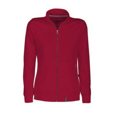 Harvest Novahill Lady Sweatjacket rood