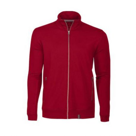 Harvest Novahill Sweatjacket rood