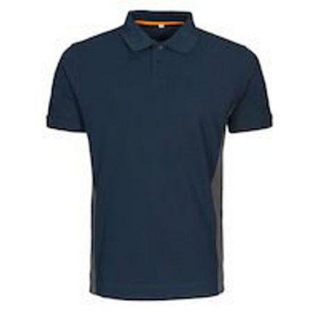 MacOne Ture Polo shirt marine-grijs mêlée