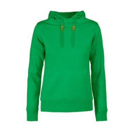 Printer Fastpitch Lady hooded sweater frisgroen