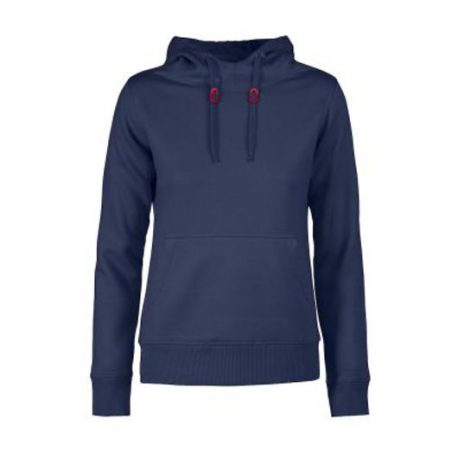 Printer Fastpitch Lady hooded sweater marine