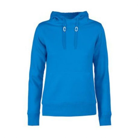 Printer Fastpitch Lady hooded sweater oceaanblauw