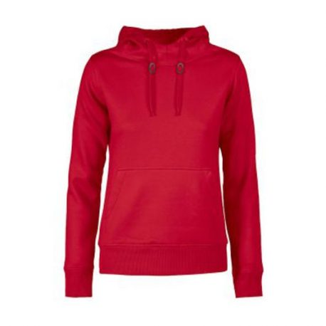 Printer Fastpitch Lady hooded sweater rood