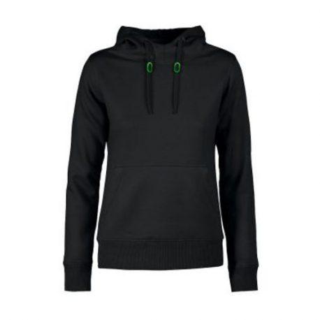 Printer Fastpitch Lady hooded sweater zwart