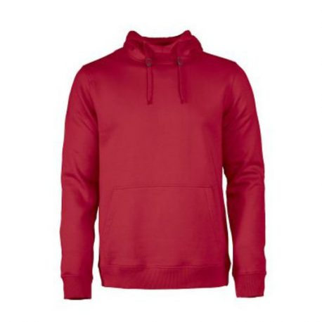Printer Fastpitch hooded sweater RSX rood