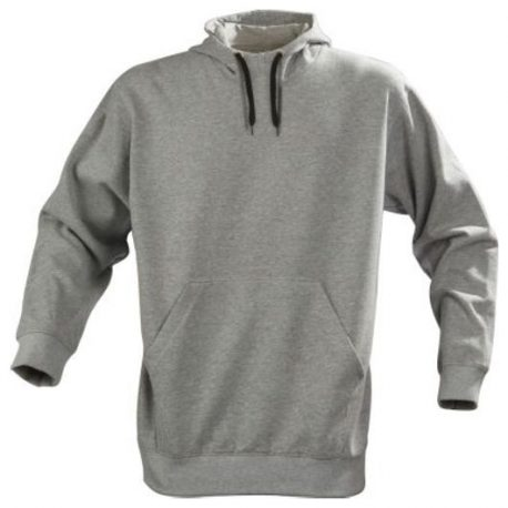 Printer Fastpitch hooded sweater grijs mêlée