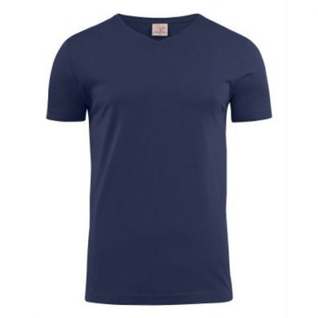 Printer Heavy V t-shirt Marine