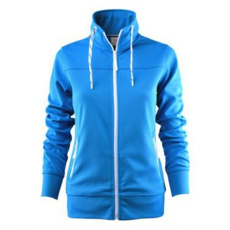 Printer Jog Lady Sweatshirt oceaan blauw