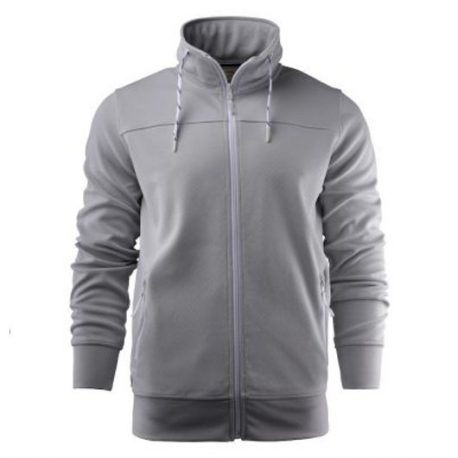 Printer Jog Sporty Sweatshirt lichtgrijs