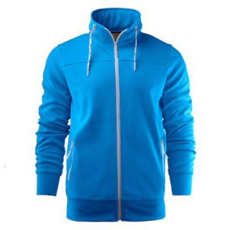 Printer Jog Sporty Sweatshirt oceaan blauw