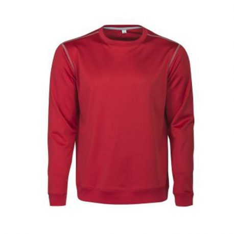 Printer Marathon crewneck sweater rood