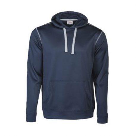 Printer Pentathlon hooded Sweater marine