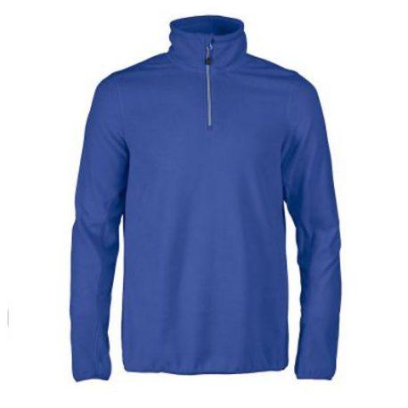 Printer Railwalk Fleece halfzip blauw