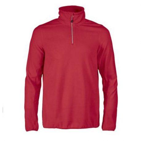 Printer Railwalk Fleece halfzip rood