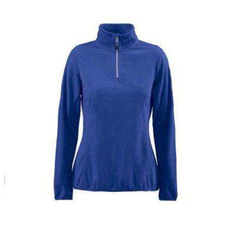 Printer Railwalk Lady Fleece halfzip blauw