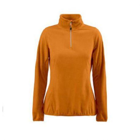 Printer Railwalk Lady Fleece halfzip oranje