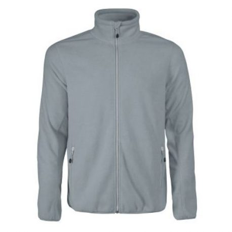 Printer Rocket Fleece Jacket metaalgrijs