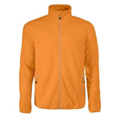 Printer Rocket Fleece Jacket oranje