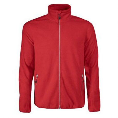Printer Rocket Fleece Jacket rood