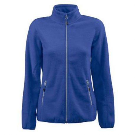 Printer Rocket Lady Fleece Jacket blauw
