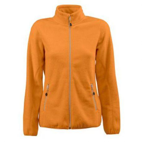 Printer Rocket Lady Fleece Jacket oranje