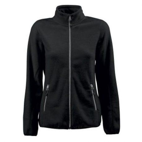 Printer Rocket Lady Fleece Jacket zwart