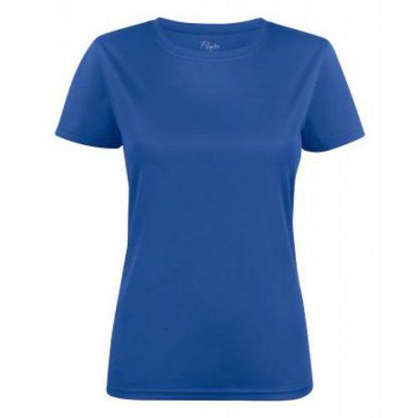 Printer Run Active Lady t-shirt blauw