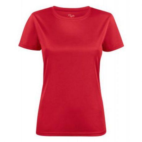Printer Run Active Lady t-shirt rood