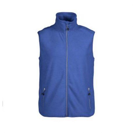 Printer Sideflip Fleece Vest blauw