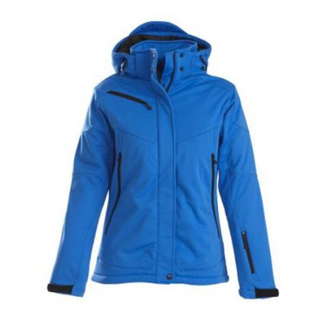 Printer Skeleton Lady Softshell Jacket oceaanblauw