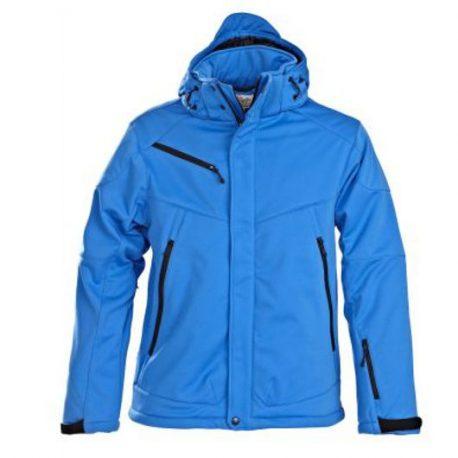 Printer Skeleton Softshell Jacket oceaanblauw