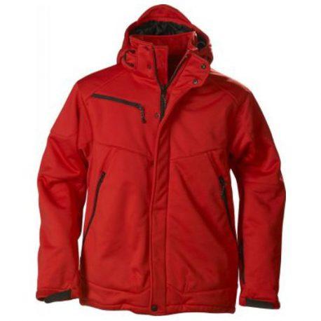 Printer Skeleton Softshell Jacket rood