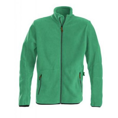 Printer Speedway fleece jacket frisgroen