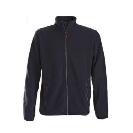 Printer Speedway fleece jacket marine