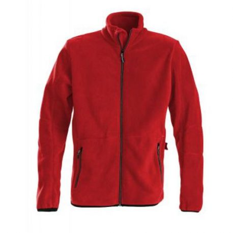 Printer Speedway fleece jacket rood