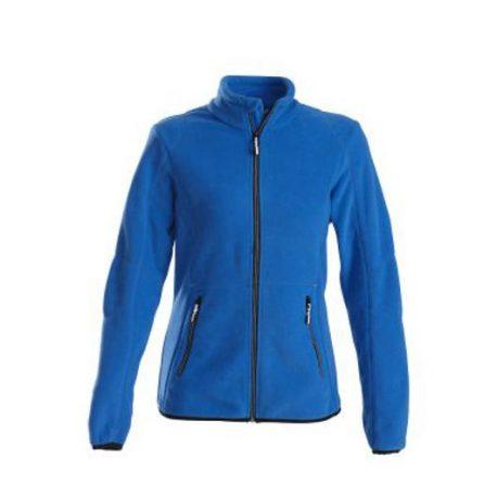 Printer Speedway lady fleece jacket oceaanblauw