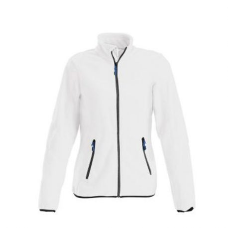 Printer Speedway lady fleece jacket wit