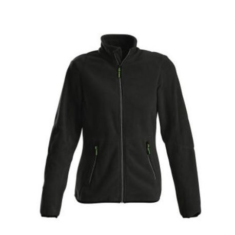 Printer Speedway lady fleece jacket zwart