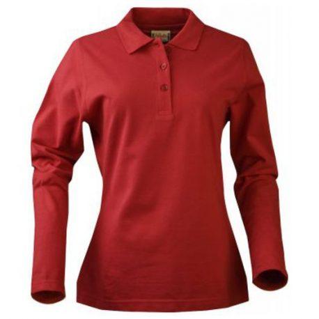 Printer Surf Ladies Long Sleeve rood
