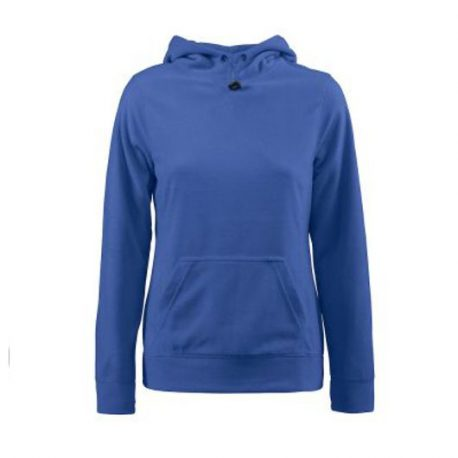 Printer Switch Lady Fleece Hoodie blauw