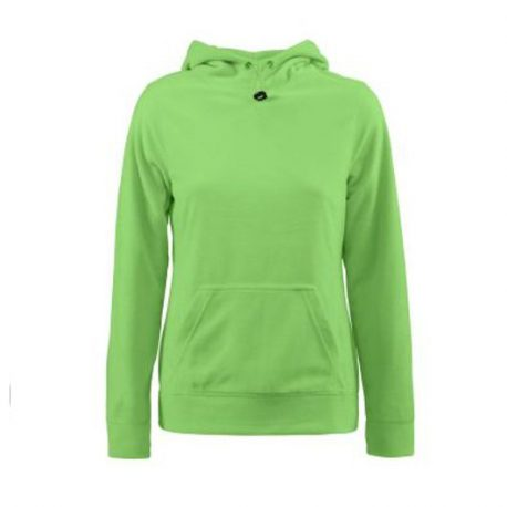Printer Switch Lady Fleece Hoodie limoen