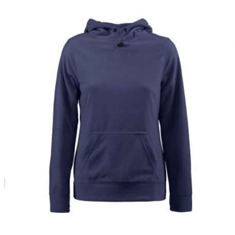 Printer Switch Lady Fleece Hoodie marine