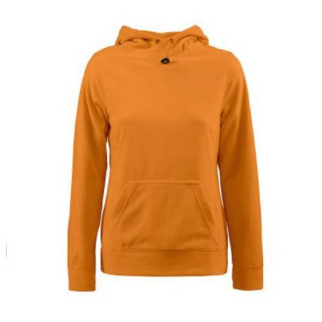 Printer Switch Lady Fleece Hoodie oranje