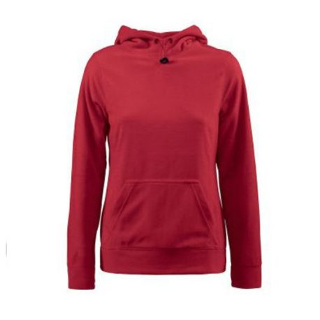 Printer Switch Lady Fleece Hoodie rood