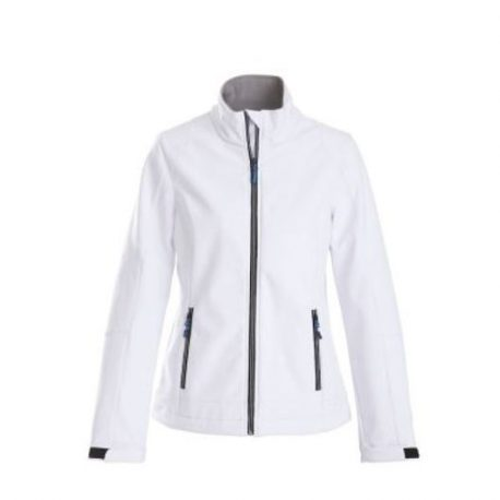 Printer Trial Lady Softshell Jacket wit
