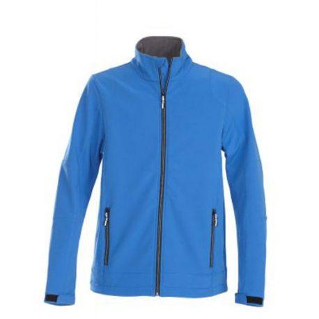 Printer Trial Softshell Jacket oceaanblauw
