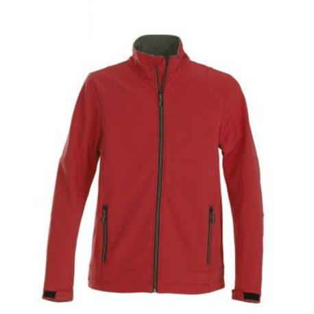 Printer Trial Softshell Jacket rood